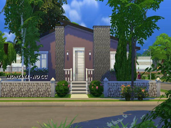 Sims 4 Montana house by Grazy Myrelle at TSR