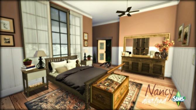 Sims 4 Nancy bedroom at Pandasht Productions