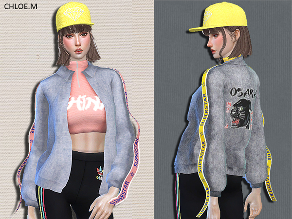 Trendy Jacket by ChloeMMM at TSR image 526 Sims 4 Updates