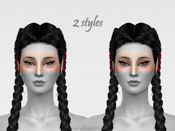 Eyeliner N2 by Suzue at TSR image 53 Sims 4 Updates