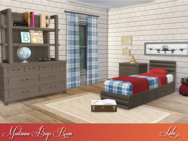 Montanna Boys Room by Lulu265 at TSR image 5314 Sims 4 Updates