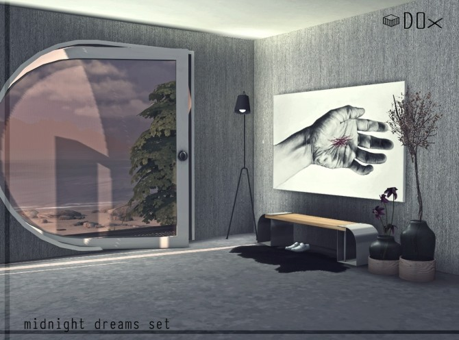 Midnight Dreams Set (P) at DOX image 547 670x496 Sims 4 Updates