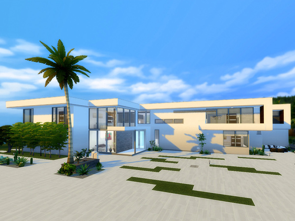 Sims 4 Sunset Strip Luxury Residence by ExternalSense at TSR
