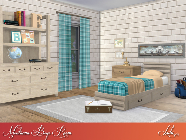Montanna Boys Room by Lulu265 at TSR image 5515 Sims 4 Updates