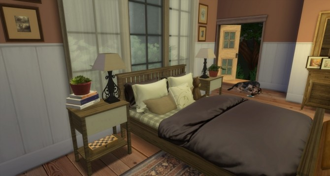 Nancy bedroom at Pandasht Productions image 555 670x358 Sims 4 Updates
