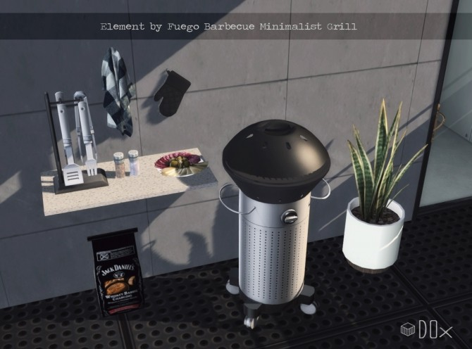Element Minimalist Grill at DOX image 557 670x496 Sims 4 Updates