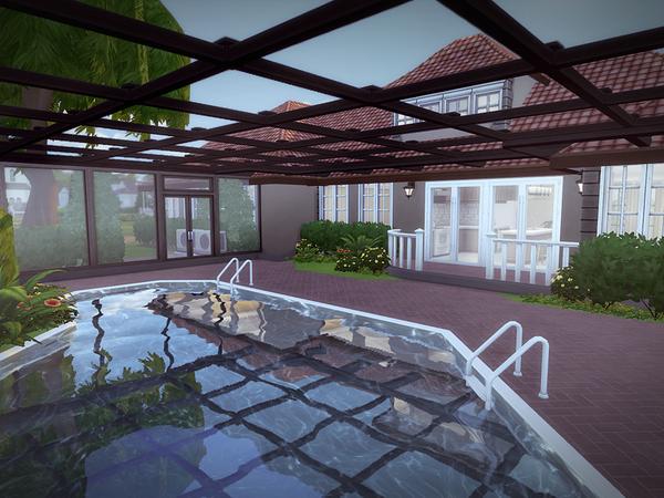 Sims 4 Florena house NO CC by melcastro91 at TSR