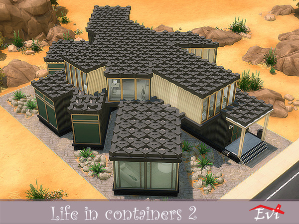 Life in Containers 2 by evi at TSR image 5816 Sims 4 Updates