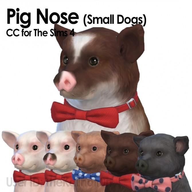 Sims 4 Pig Noses at Kalino