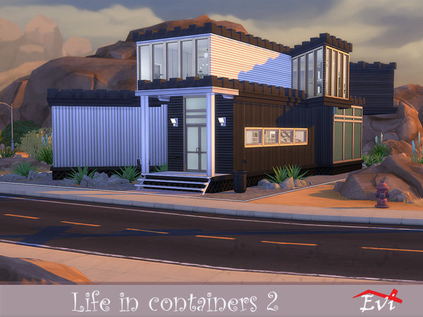 Life in Containers 2 by evi at TSR image 5916 Sims 4 Updates