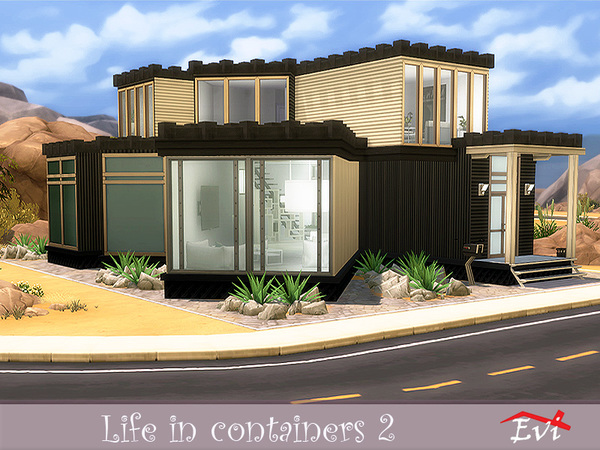 Life in Containers 2 by evi at TSR image 6016 Sims 4 Updates