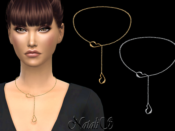 Your lips necklace by NataliS at TSR image 607 Sims 4 Updates