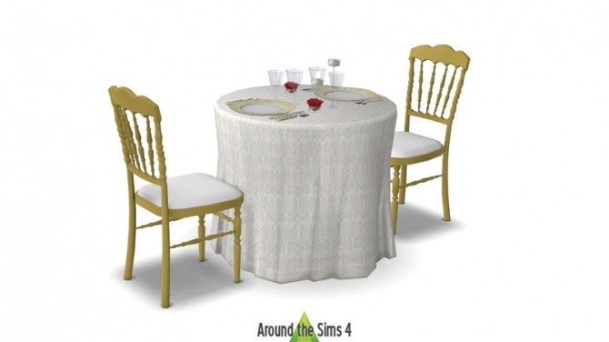 Romantic table setting at Around the Sims 4 image 6111 670x376 Sims 4 Updates