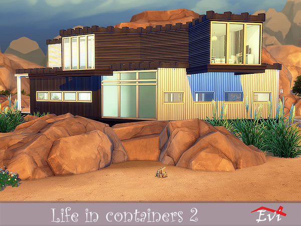 Life in Containers 2 by evi at TSR image 6121 Sims 4 Updates