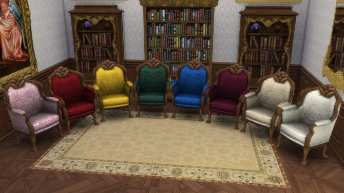 Simply Elegant Seating from TS3 by TheJim07 at Mod The Sims image 6211 670x377 Sims 4 Updates