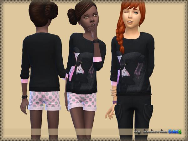 Set Flamingo pants and sweater by bukovka at TSR image 6316 Sims 4 Updates
