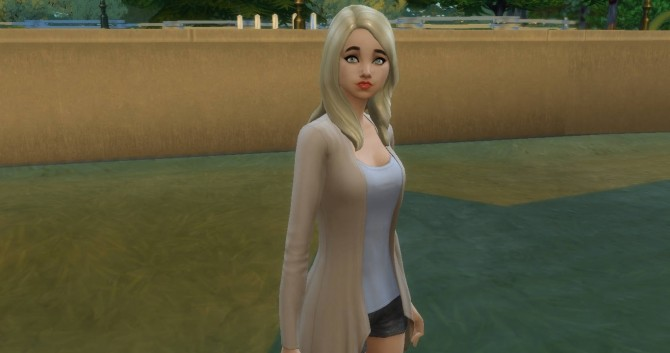 Sims 4 Rhonda Lentz no CC base game by NoteCat at Mod The Sims