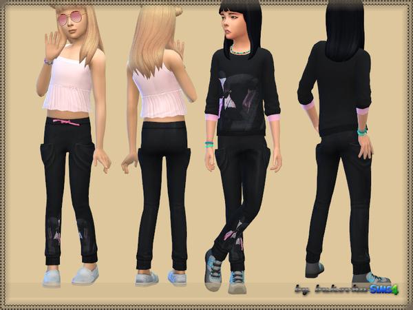 Set Flamingo pants and sweater by bukovka at TSR image 6416 Sims 4 Updates