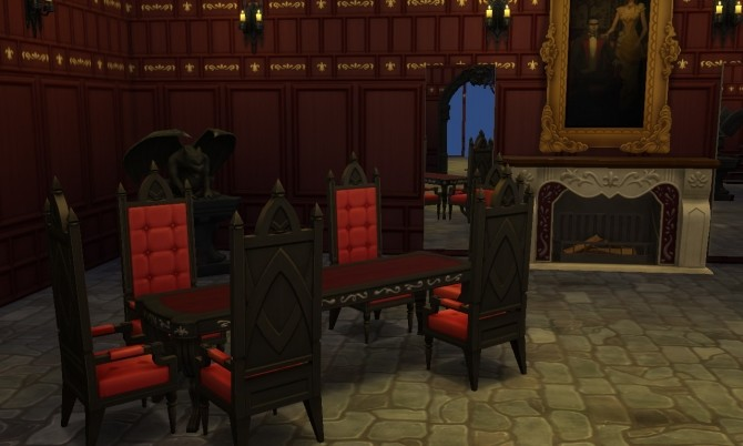 Vampire House (no CC) at Tatyana Name image 649 670x402 Sims 4 Updates