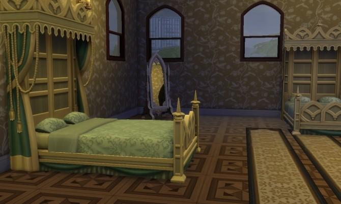 Sims 4 Vampire House (no CC) at Tatyana Name