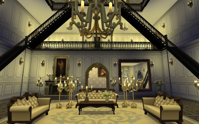 Victorian Mansion   Vampire edition by catdenny at Mod The