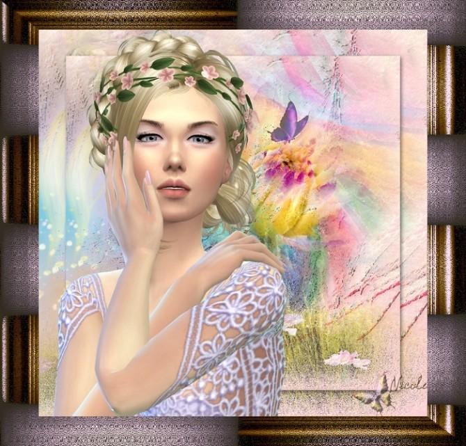 Sims 4 Rose at L'univers de Nicole