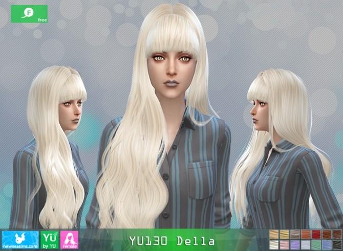 YU130 Della hair at Newsea Sims 4 image 662 670x491 Sims 4 Updates
