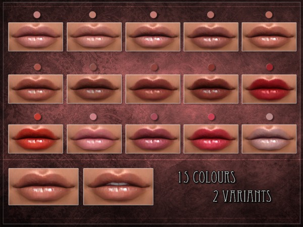 PAGE Lipstick by RemusSirion at TSR image 668 Sims 4 Updates