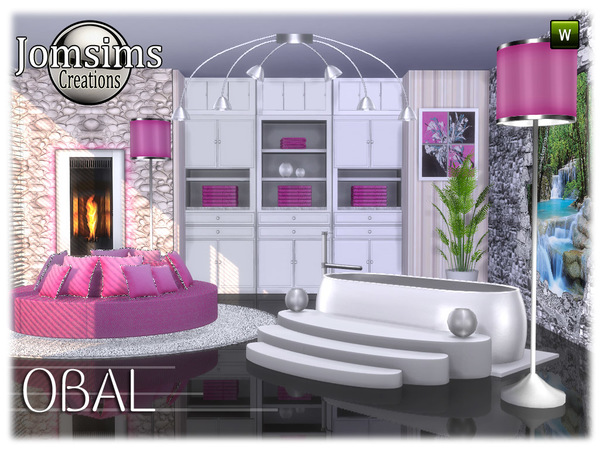 Obal bathroom part 2 by jomsims at TSR image 6717 Sims 4 Updates