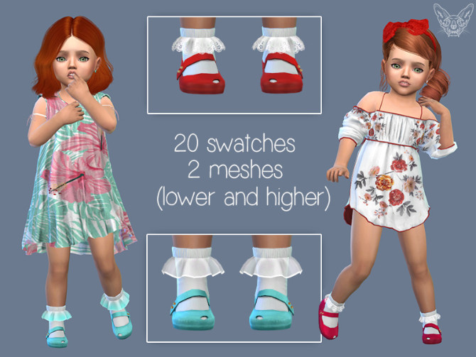 Toddler Frilly Socks 2.0 at Giulietta image 6719 670x503 Sims 4 Updates