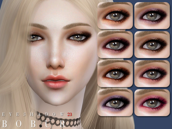 Eyeshadow 23 by Bobur3 at TSR image 678 Sims 4 Updates