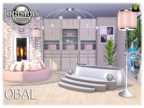 Obal bathroom part 2 by jomsims at TSR image 6817 Sims 4 Updates