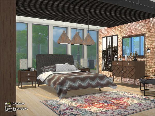 Pera Bedroom by ArtVitalex at TSR image 69 Sims 4 Updates