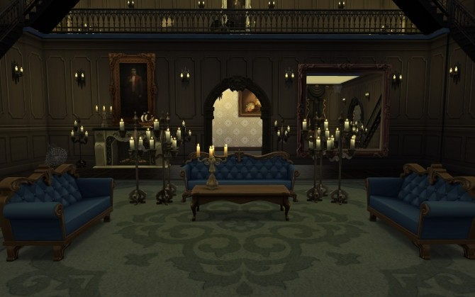 Victorian Mansion + Vampire edition by catdenny at Mod The Sims image 6913 670x419 Sims 4 Updates