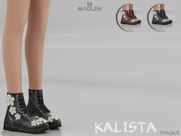 Madlen Kalista Boots by MJ95 at TSR image 694 Sims 4 Updates