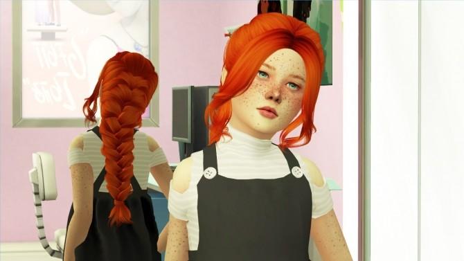 Sims 4 ANTO ALESSANDRA HAIR K + T at REDHEADSIMS