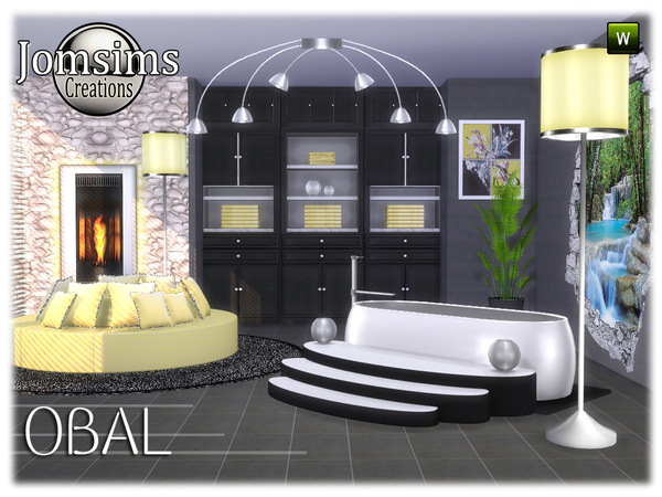 Obal bathroom part 2 by jomsims at TSR image 7017 Sims 4 Updates