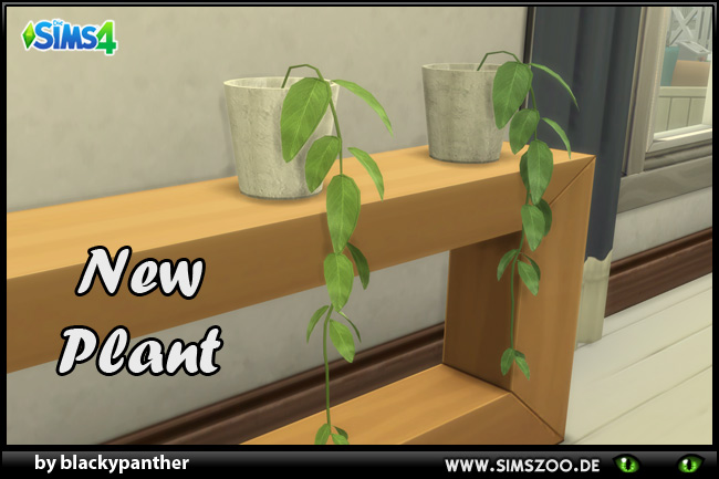 Indoor plant 7 by blackypanther at Blacky's Sims Zoo image 702 Sims 4 Updates