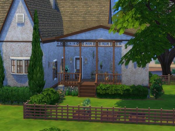 Sims 4 Carlton Way house by staralien at TSR