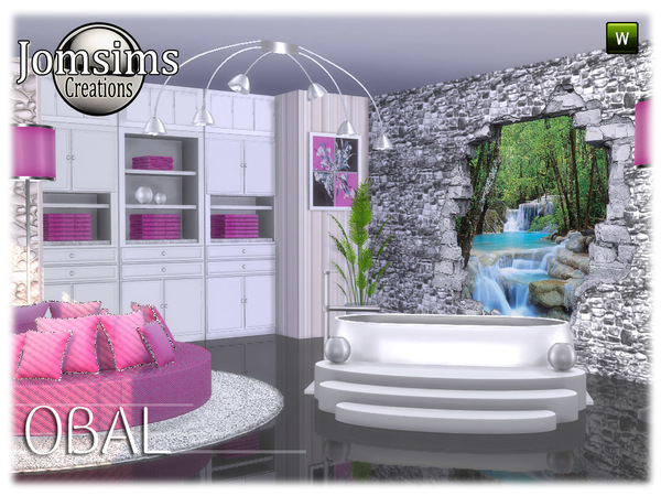 Obal bathroom part 2 by jomsims at TSR image 7121 Sims 4 Updates