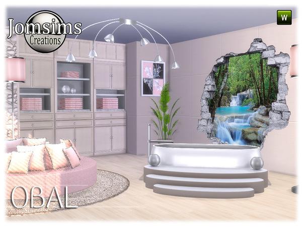 Obal bathroom part 2 by jomsims at TSR image 7218 Sims 4 Updates