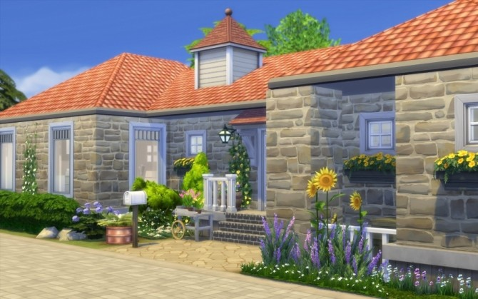 La Bruyère house by Bloup at Sims Artists image 727 670x419 Sims 4 Updates
