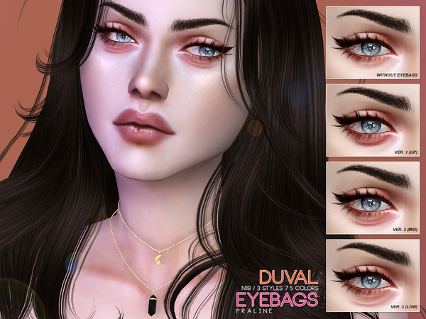 Duval Eyebags N19 by Pralinesims at TSR image 73 Sims 4 Updates