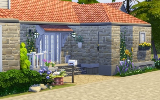 La Bruyère house by Bloup at Sims Artists image 737 670x419 Sims 4 Updates