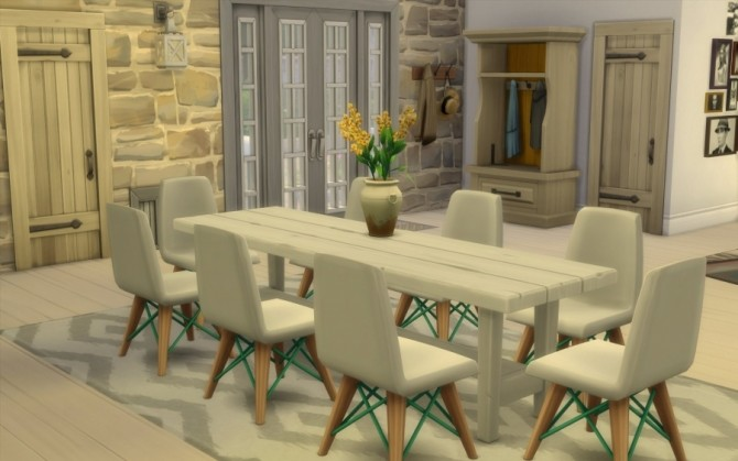 La Bruyère house by Bloup at Sims Artists image 747 670x419 Sims 4 Updates