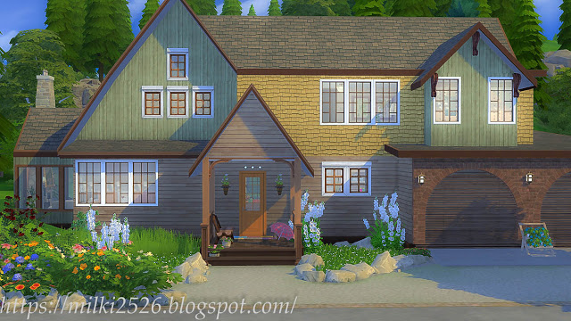 House by the woods at Milki2526 image 749 Sims 4 Updates