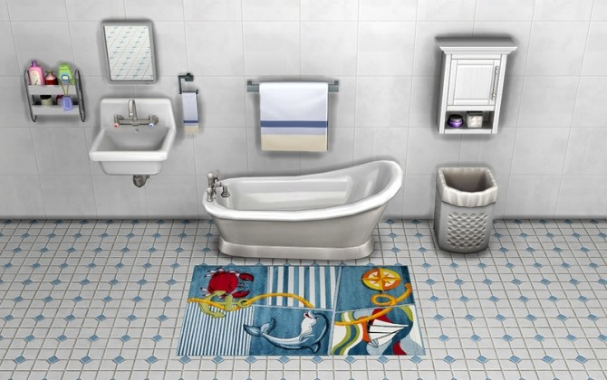 Sims 4 Rugs Baby by ihelen at ihelensims