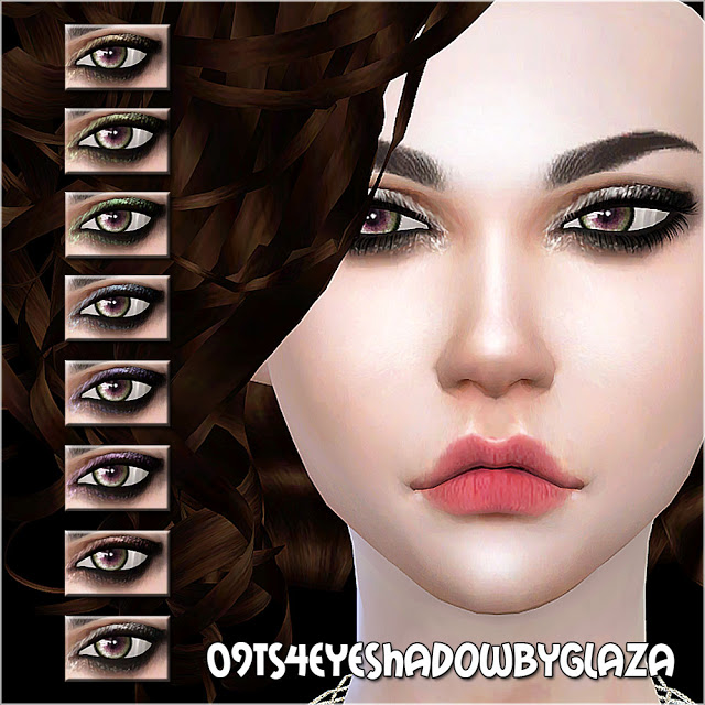 Eyeshadow #09 at All by Glaza image 755 Sims 4 Updates