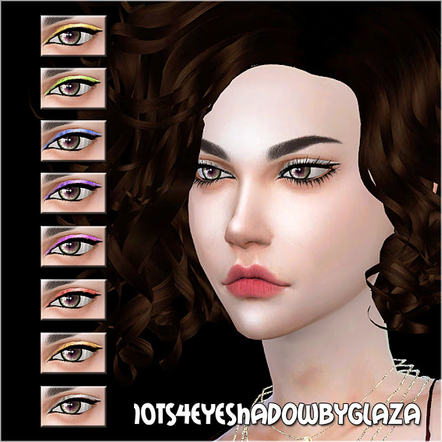 Eyeshadow #10 at All by Glaza image 765 Sims 4 Updates