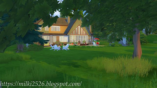 House by the woods at Milki2526 image 769 Sims 4 Updates